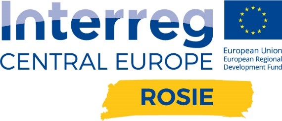 Logo Interreg Central Europe ROSIE